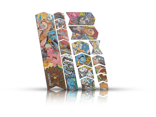Riesel Design frame Protection Tape 3000, stickerbomb
